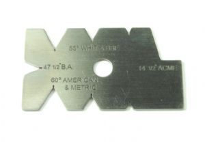 Screw Cutting Gauge. BA, WHIT, BSF, ACME, American and Metric. M0426